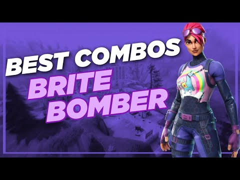 Best Chapter 2 Combos | Brite Bomber | Fortnite Skin Review Pt.2
