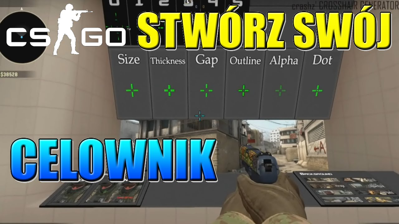 how to change crosshair in cs go workshop