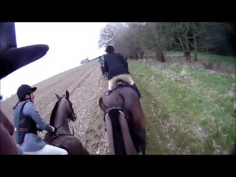 2013.03.03 - SC & RMA Sandhurst drag hunt @ Farleigh Estates
