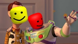 Woody Vs Buzz But Every Hit Is A Roblox Death sound