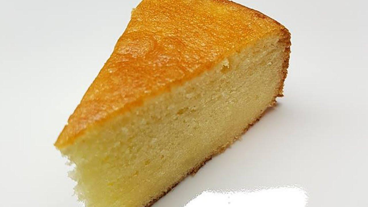 Caribbean Sponge Cake