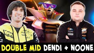 Double mid Dendi + Noone — BEST CIS miders vs SEA server