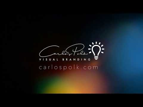 Branding Services - Carlos Polk -  Flyer, Web, and stationary design in one place.