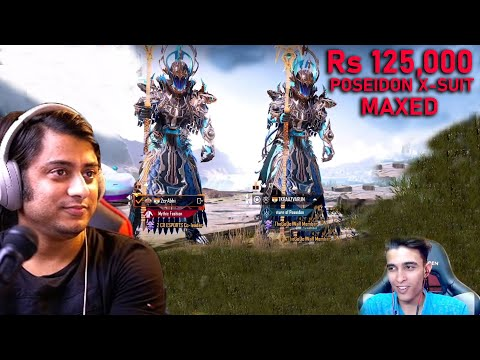 Download Rs 125,000 MAXED POSEIDON X-SUIT Lucky Crate Opening Reaction ft @DR ABHI PANDAT