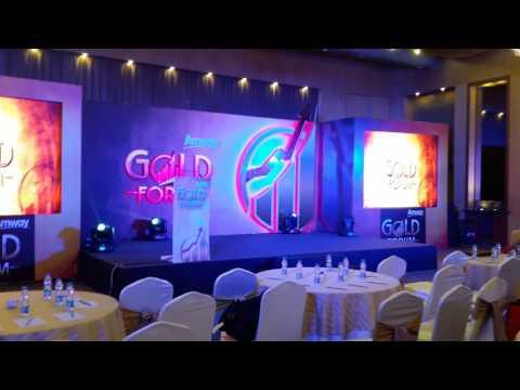 Amway Gold Forum award 2017 at Kolkata HHI