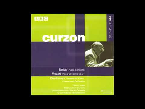 MOZART: Piano Concerto No. 24 in C minor KV 491 / Curzon · Haitink · London Philharmonic Orchestra