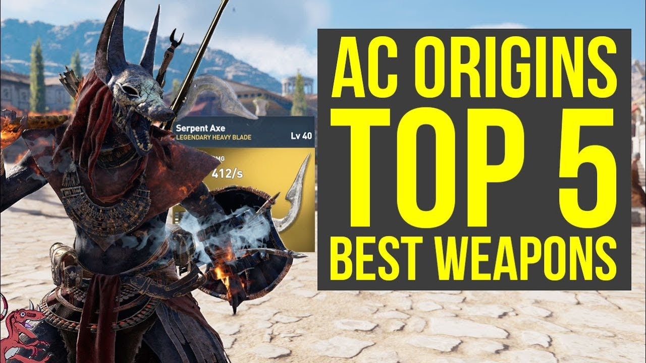 assassin s creed origins best weapons top 5 most amazing weapons