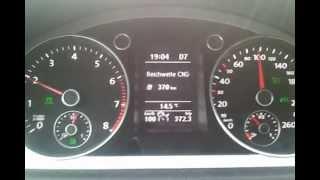 VW Passat 1.4 TSI EcoFuel natural gas vehicle NGV CNG Erdgas