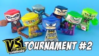 VS Rip-Spin Warriors Superhero Tourny #2 with Batman VS Superman, TMNT, Ghostbusters TOYS | KIDCITY