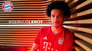 It's official! leroy sané is a player of fc bayern munich. #servusleroyyou can buy your jersey here: https://fc.bayern/fcb-shirt-sane► #miasanmia - subs...