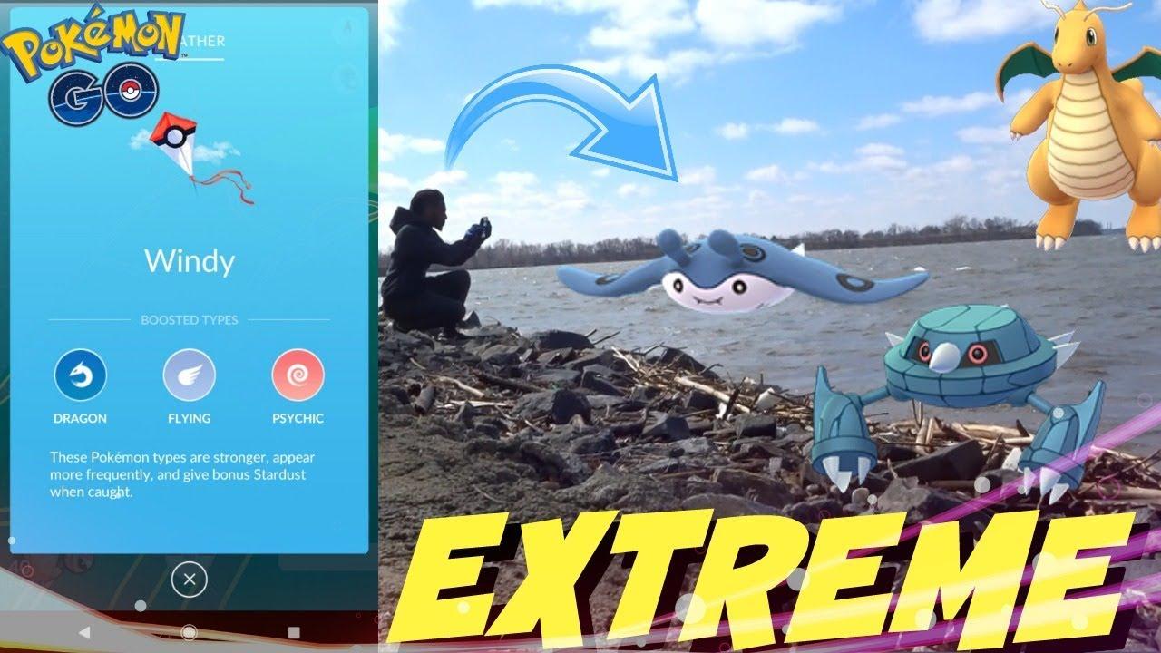 pokemon go weather problems