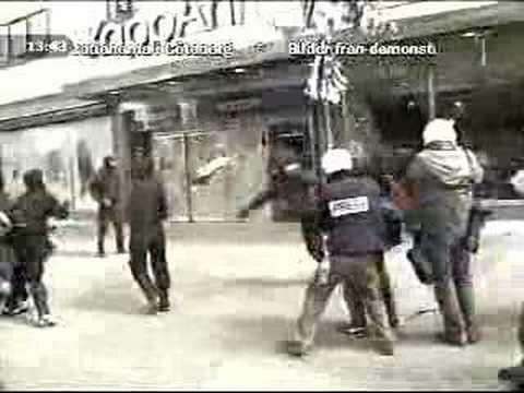Göteborg 2001 riots