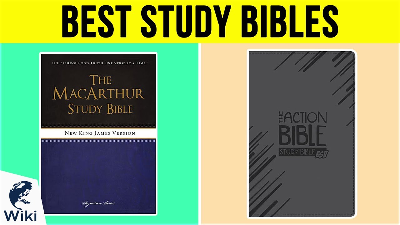 Top 10 Study Bibles of 2019 | Video Review