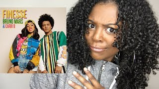 Bruno Mars Finesse (Remix) [Feat. Cardi B] REACTION [Official Video]