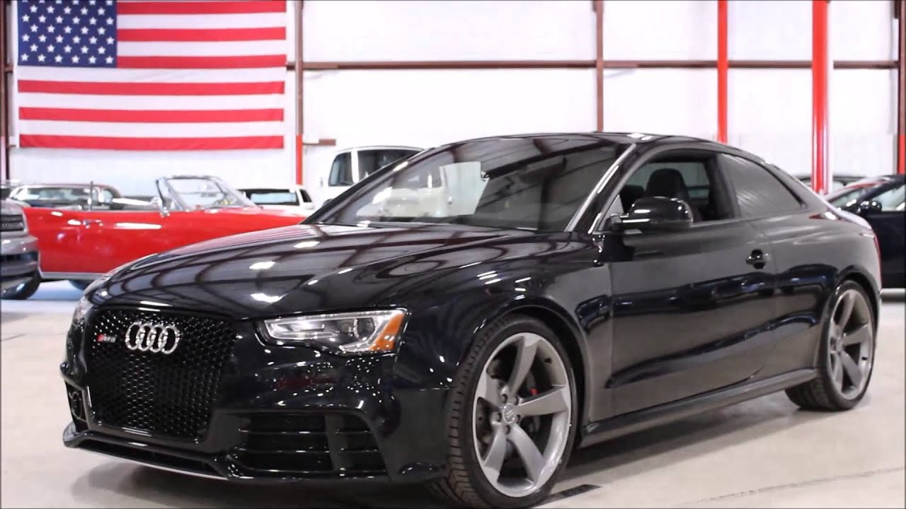 2013 Audi Rs5 Black Youtube