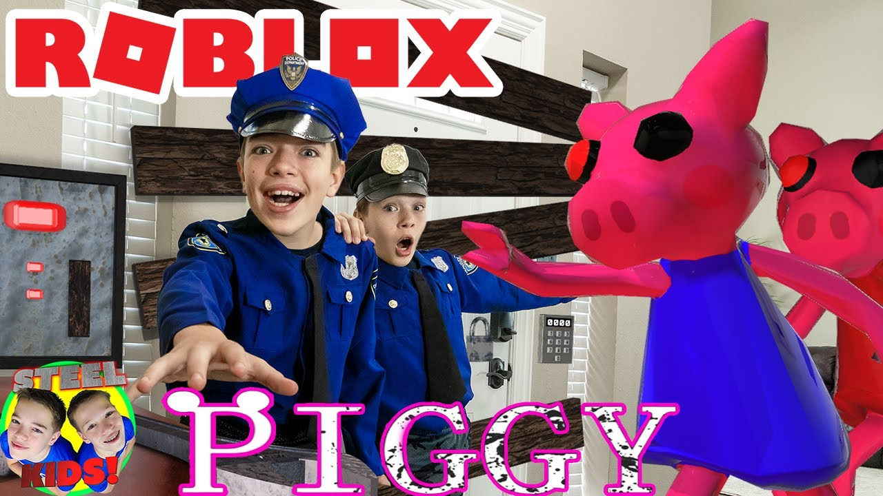ROBLOX PIGGY In Real Life! Piggy Trouble Chapter 1 House Escape!