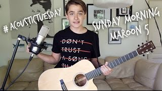 Sunday Morning - Maroon 5 (Acoustic Cover by Ian Grey)