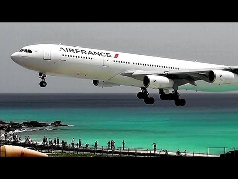 PlaneSpotting at Princess Juliana Int'l (HD1080p)