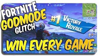 WIN EVERY GAME ON FORTNITE GLITCH (Game-breaking Fortnite glitch! GODMODE)