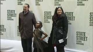 Full Video: Fearless Girl Finds New Home