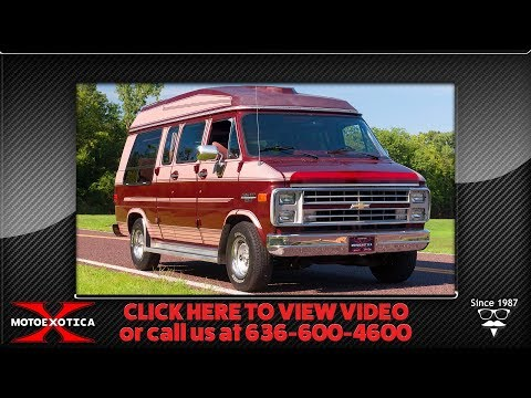 1989 Chevrolet Van || SOLD