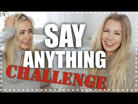 SAY ANYTHING CHALLENGE med Ida Warg