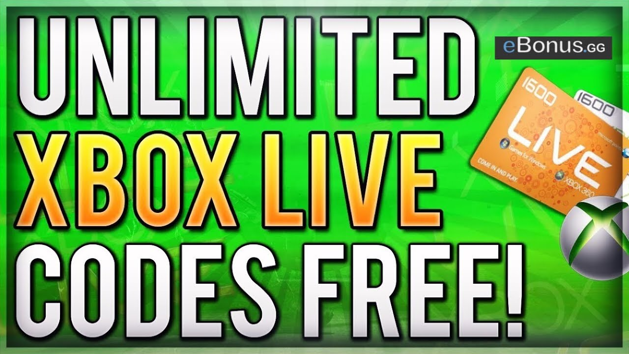 ✅2019 FREE Xbox Live Gold Forever Hack!!