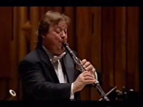 Andrew Marriner plays Mozart clarinet concerto - II. Adagio