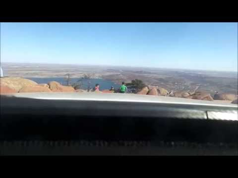Drive to Mount Scott near Lawton Oklahoma