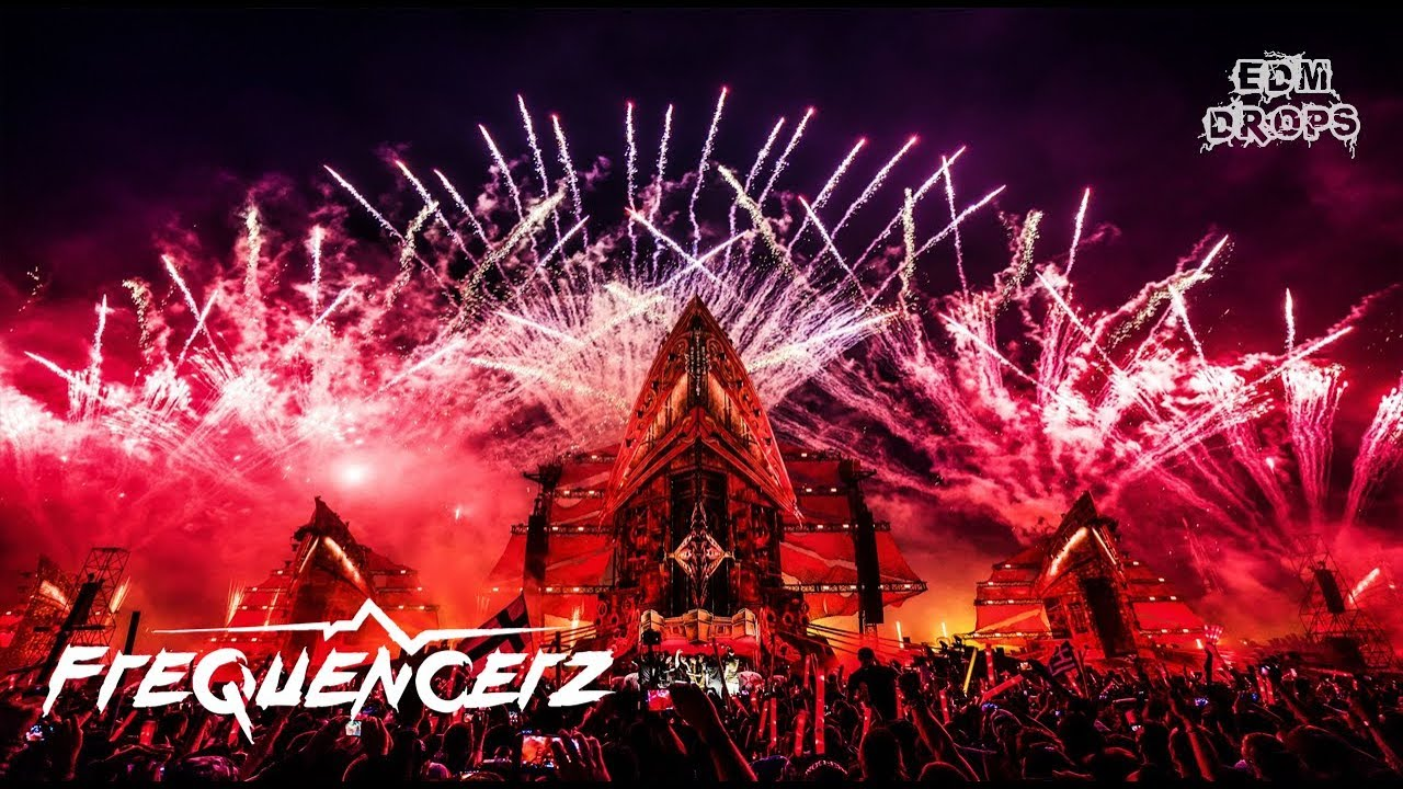 Hardstyle Drops Only  Frequencerz @ Defqon 1 2017 Youtube