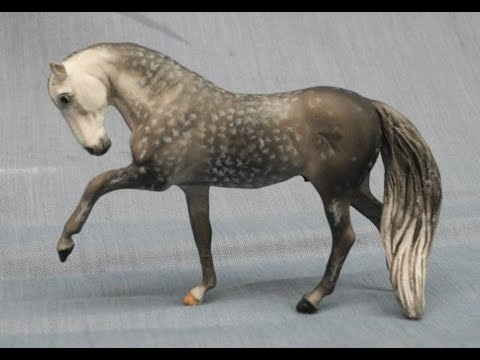 Painting a Dappled Grey Model Horse - Tutorial Series, Part 4