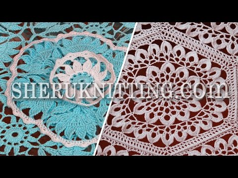 Knitting And Crochet Tablecloths Collection Youtube