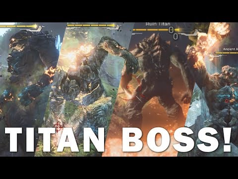 Anthem: FIGHTING 4 TITANS! New Colossus & Ranger Gameplay (How to Beat a Titan)!