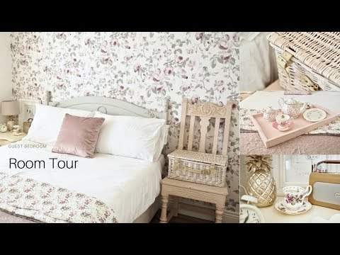 bedroom-tour,-shabby-chic-style-decor.