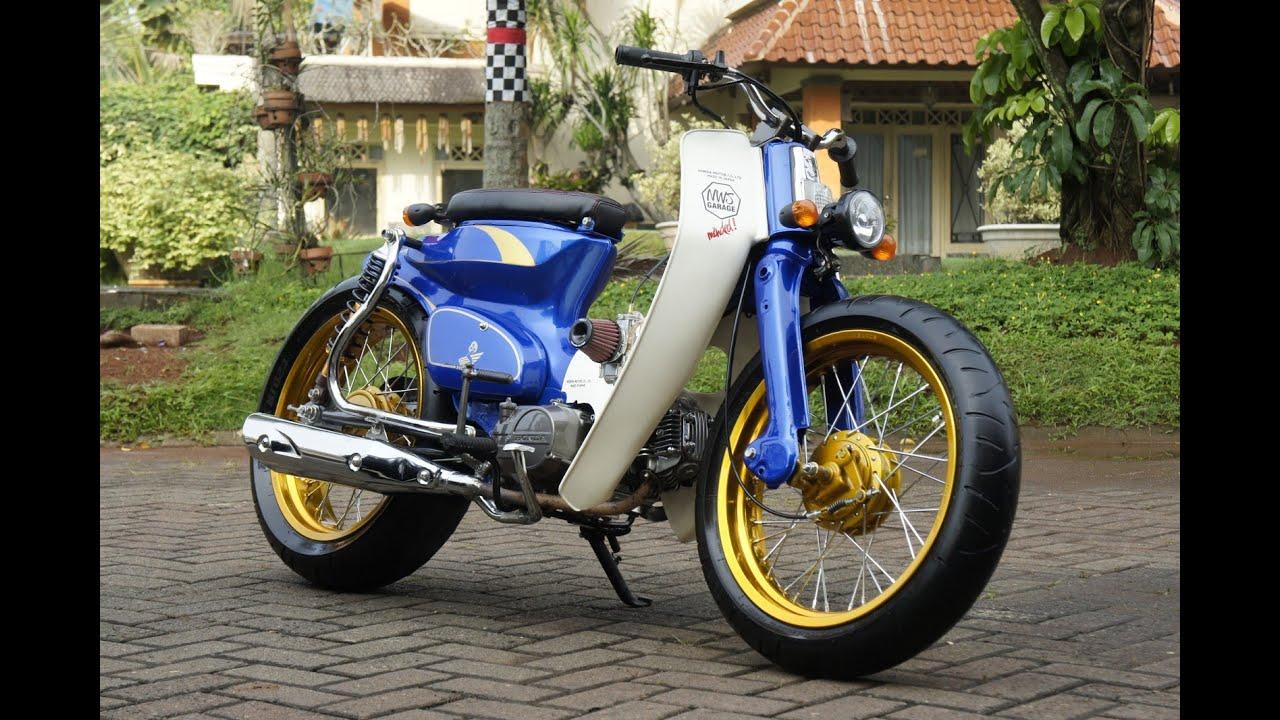 Motor Trend Modifikasi  Video Modifikasi Motor Honda C70