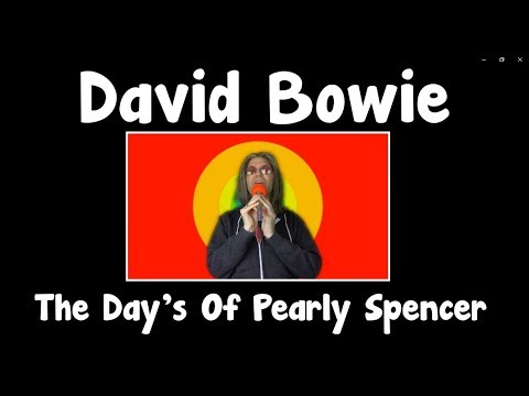 David Bowie Sings Marc Almond  UNRELEASED - The Days Of Pearly Spencer