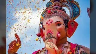 😍Ganpati bappa Moriya Song Mumbai  Festival (jiv jadla charni tuzya re songs) 😍