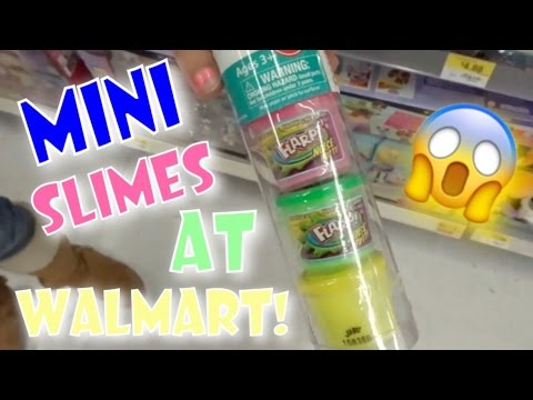 NEW SQUISHIES AT WALMART?!?! | WE FOUND MINI SLIME!!! | VLOG