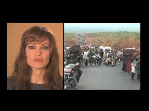 Goodwill Ambassador Angelina Jolie for World Refugee Day 2010