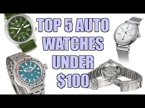 Top 5 Automatic Watches Under $100 - Perth WAtch #191