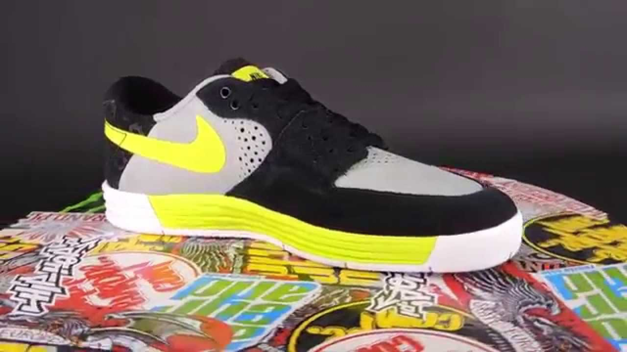 NIKE SB Paul Rodriguez 7 [BASE GREY / VENOM GREEN - BLACK]