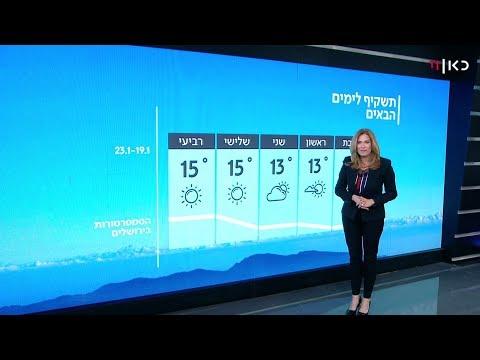 תחזית מזג האוויר: חוזרים למידות חום ממוצעות לעונה
