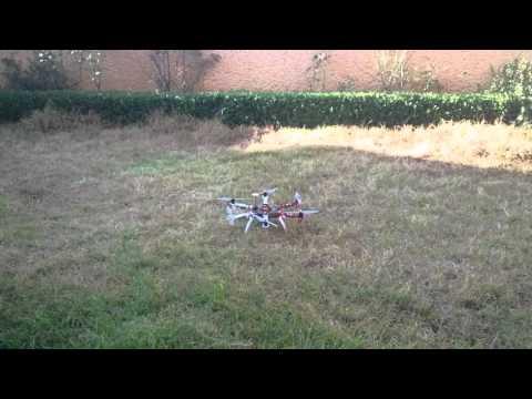 MBZIR Team: Aerial Programming Creations, Drone Flying test