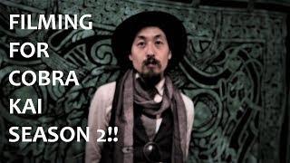 FILMING FOR COBRA KAI SEASON 2!! TRAVELING TO ATLANTA GEORGIA!!
