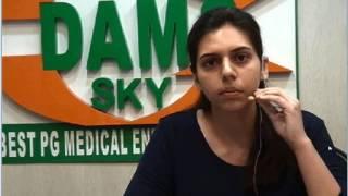 Dr Akanksha Sharma Rank 1 AIIMS MAY 2016 www.damsdelhi.com