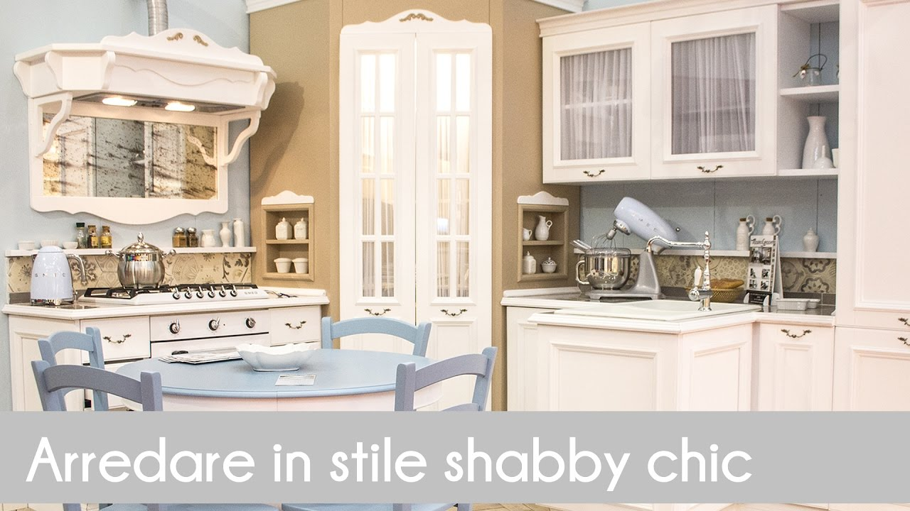 arredare in stile shabby chic youtube