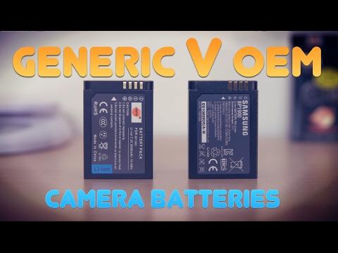Quick Look: Generic (DSTE) Vs OEM Camera Battery.