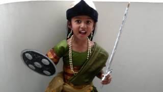 Rani Lakshmi Bai Jhasi Ki Rani Kids Fancy Dress