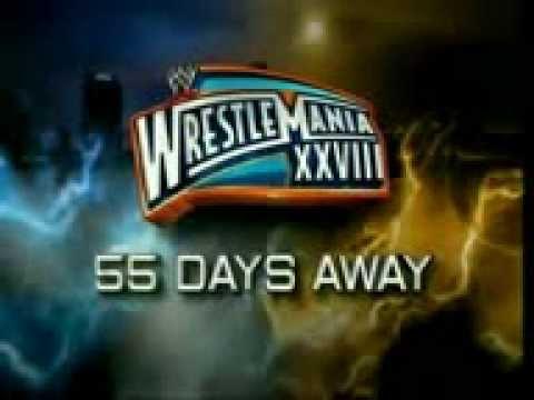 WWE Wrestlemania 28 Promo 55 Days Away
