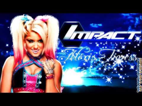 "(NEW) 2017: Alexa Bliss 1st TNA Theme Song ►""Dangerous (Eliminate Remix)"" By Cascada + DLᴴᴰ"